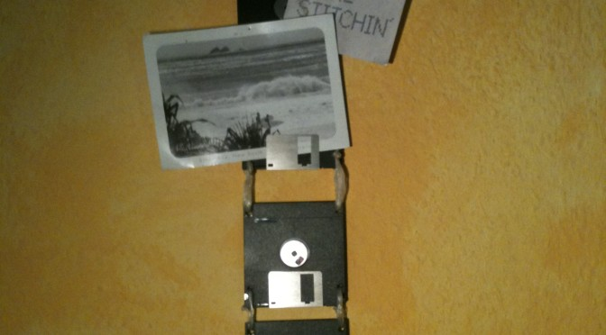 floppy disk upcycling